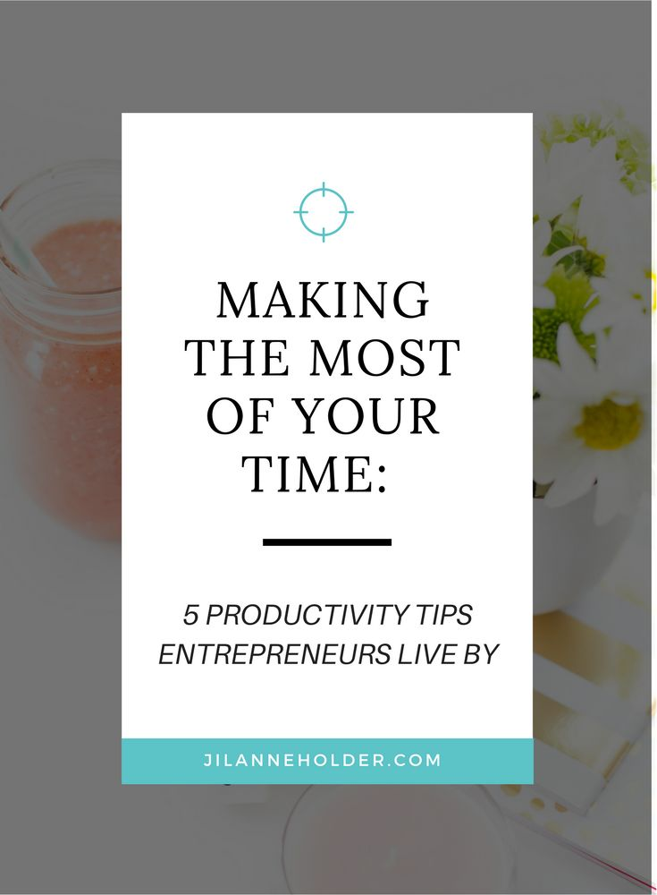 Being productive and getting things done is a real struggle for many business owners - here are 5 productivity tips entrepreneurs live by.