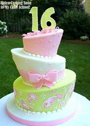 Sweet 16 Cake Ideas | Endless Cake Ideas
