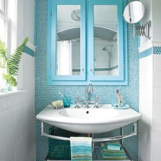 29 best Blue Bathroom images on Pinterest Room, Bathroom ideas - blue bathroom ideas