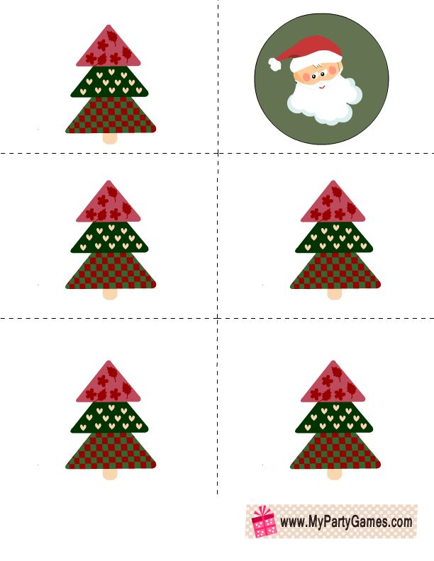 225 best Free Christmas Printables, Christmas Game, Labels - free christmas tree templates