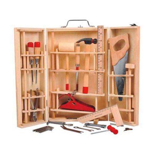 outils bois 31 vrais outils réalisés en métal et #bois pour ~ Malette Docteur En Bois
