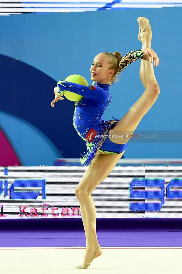 Julia Evchik (Belarus), junior, European Championships (Holon) 2016