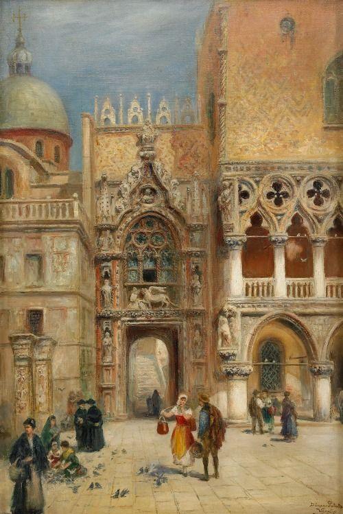 Frans Wilhelm Odelmark Dogepalaset- Venedig