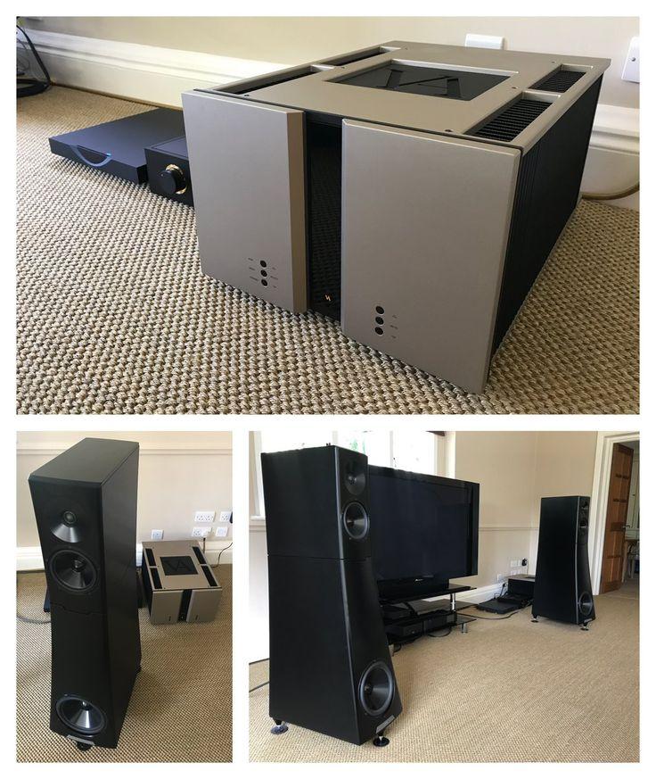YG Acoustics Hailey 1.2 and Vitus Audio amps set up