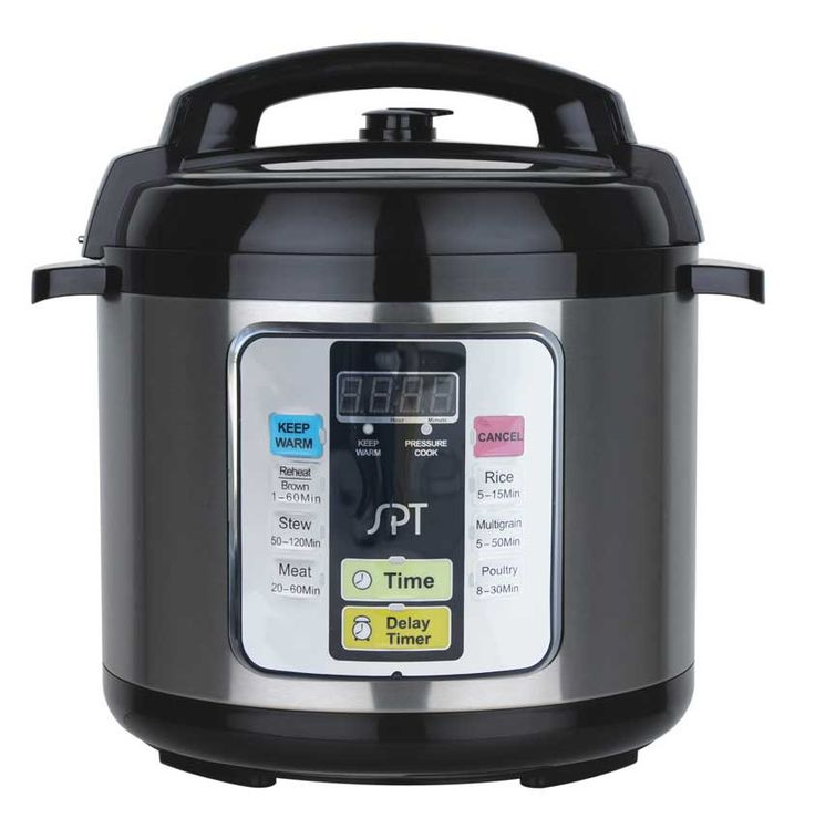 SPT 6.5-Quart Electric Stainless Steel Pressure Cooker EPC-11A
