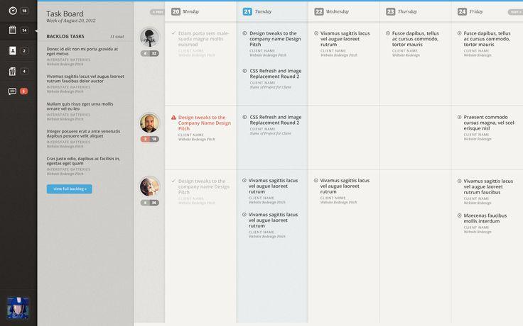 Transit - project management app | Designer: Ben Jordan