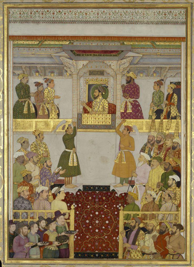 Europeans bring gifts to Shah-Jahan (July 1633)