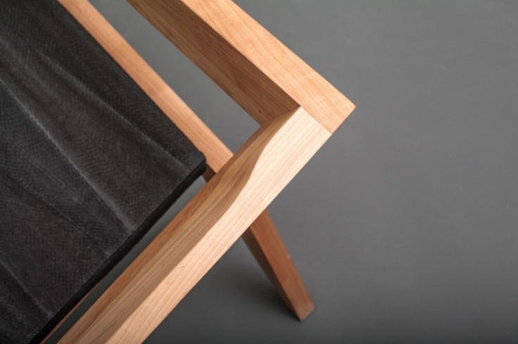 Furniture, Furniture Elbow Chairs Wooden Chairs Seat Design Lacquer Teak Wood Untreated Right Angle Chairs Elbow Art: Marvellous Celebrating Avant-Garde Minimalism: 2R Armchair by Sien Studio