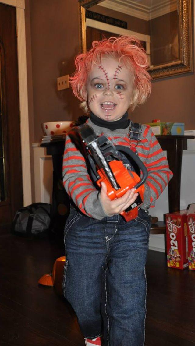 Toddler Halloween Chucky Costume  Baby Girl Halloween Costumes, Chucky Costume, Toddler Halloween-3591