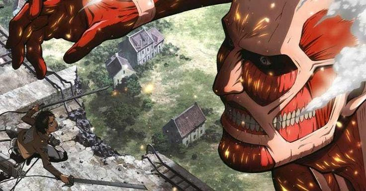 Attack On Titan is the best, definitely a must-see