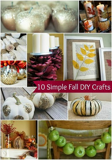 10 Simple Fall DIY Home Decor Crafts [ Wainscotingamerica.com ] #DIY #wainscoting #design