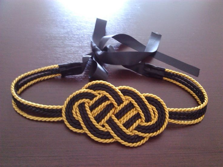 diy cinturon de cordon de seda busiembu.blogspot.com/