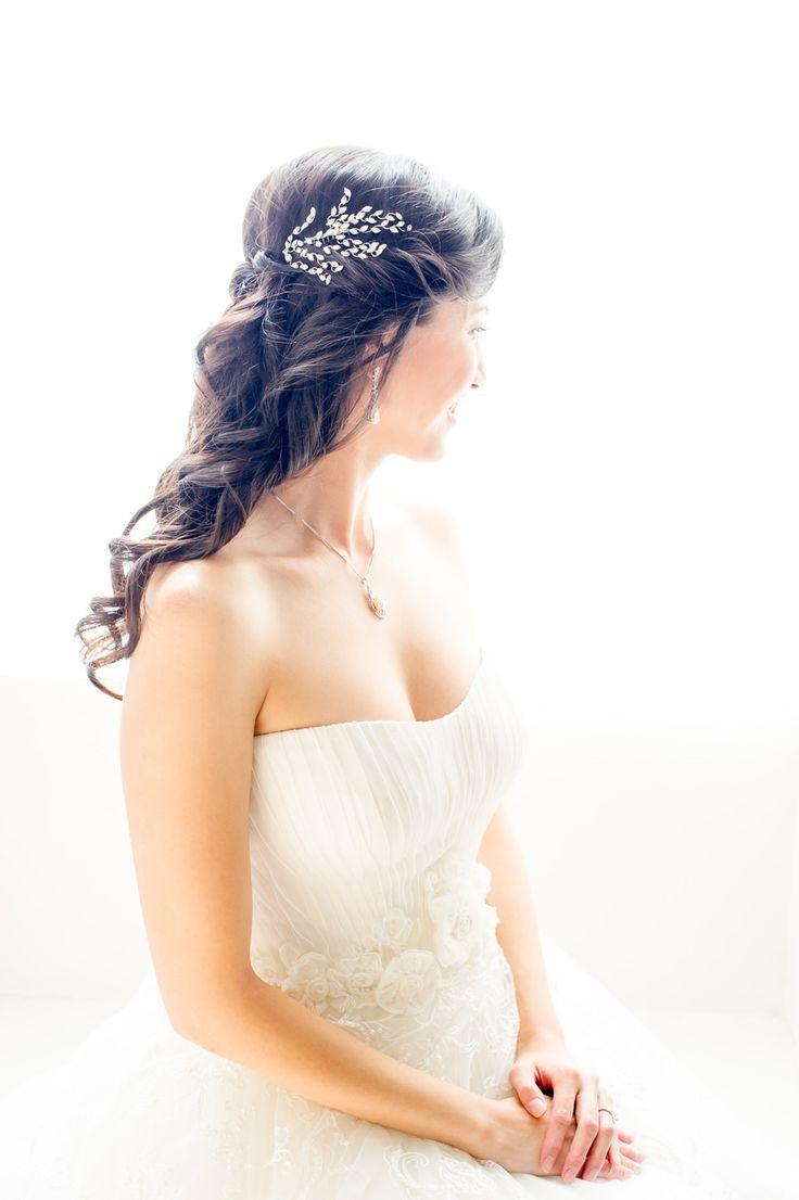 52 best Garden Wedding Hairstyles images on Pinterest | Wedding hair ...
