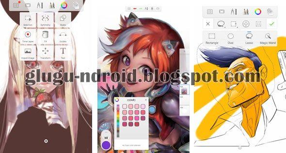 Top 6 Aplikasi Android Gratis Terbaik untuk Menggambar Membuat Sketsa dan Melukis