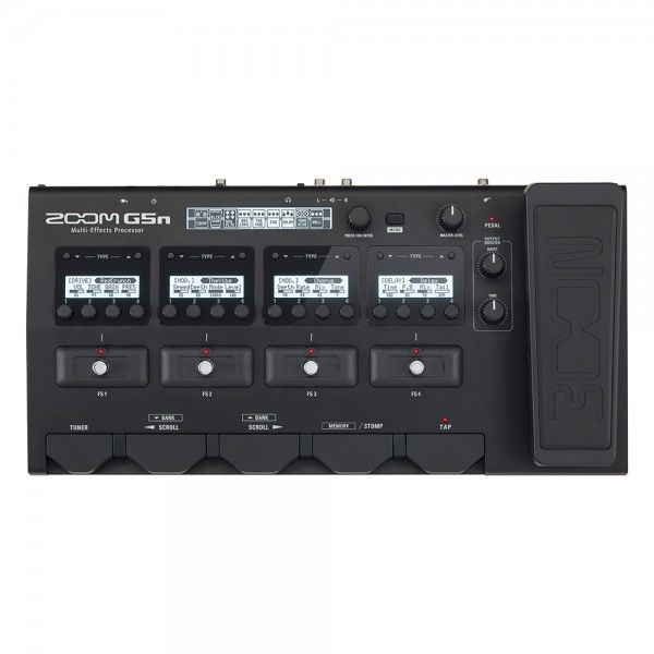 Zoom G5n Multi Effects Processor For Guitar Guitar Pedals Effects Processor Guitar