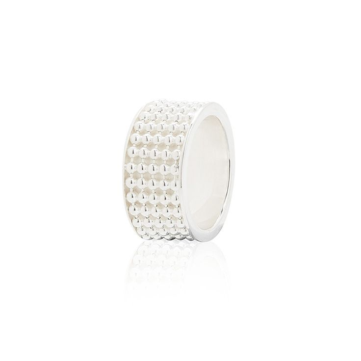 Signature Silver Ring (wide) - Kate McCoy