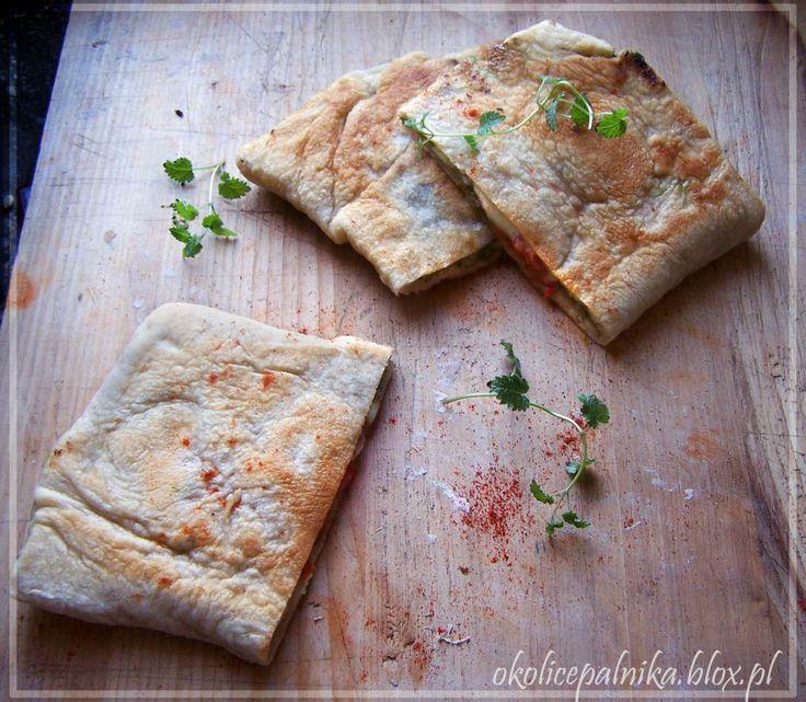 Gozleme - nadziewany turecki chlebek