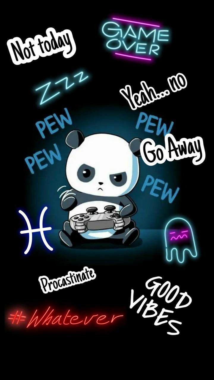 Gaming Panda Panda Wallpapers Positive Quotes Wallpaper Panda Love