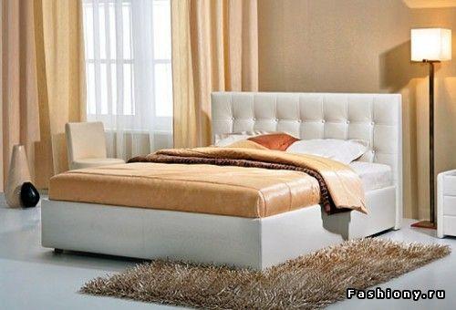 МК двуспальной кровати с мягкой спинкой / двуспальная кровать своими руками
