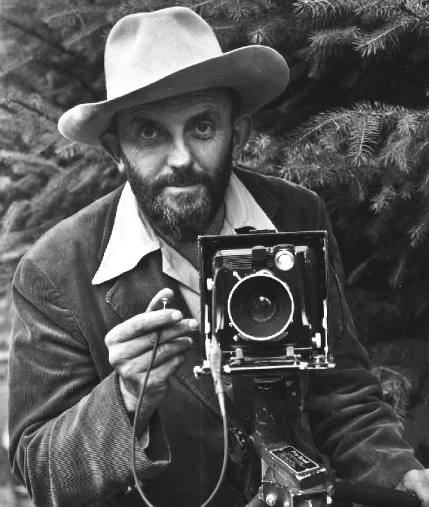 "Ansel Adams:  ""In wisdom gathered over time I have found that every experience is a form of exploration."""