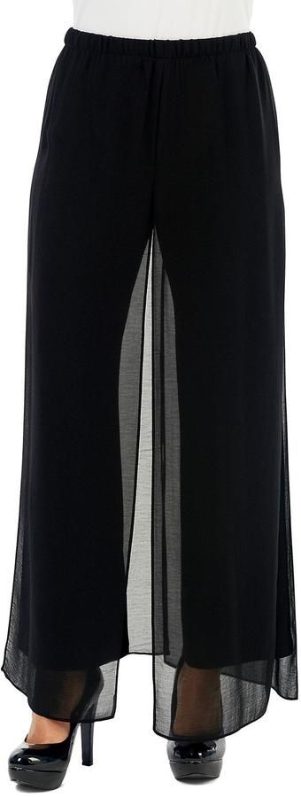 Yvonne Marie Black Palazzo Pant