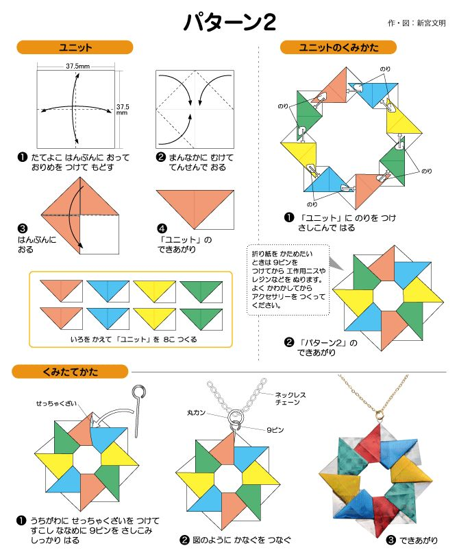 パターン2のネックレス