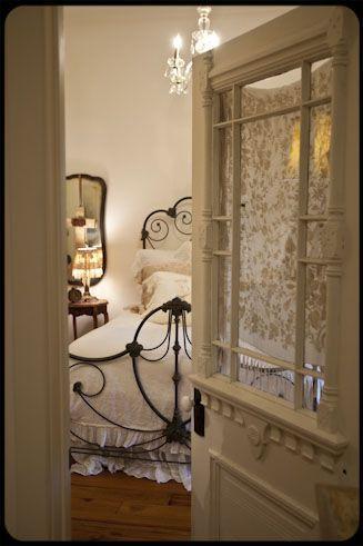 Antique Doors Repurposed Pantry