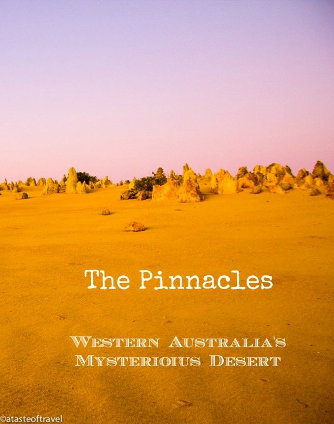 The Pinnacles: Western Australia's Mysterious Desert