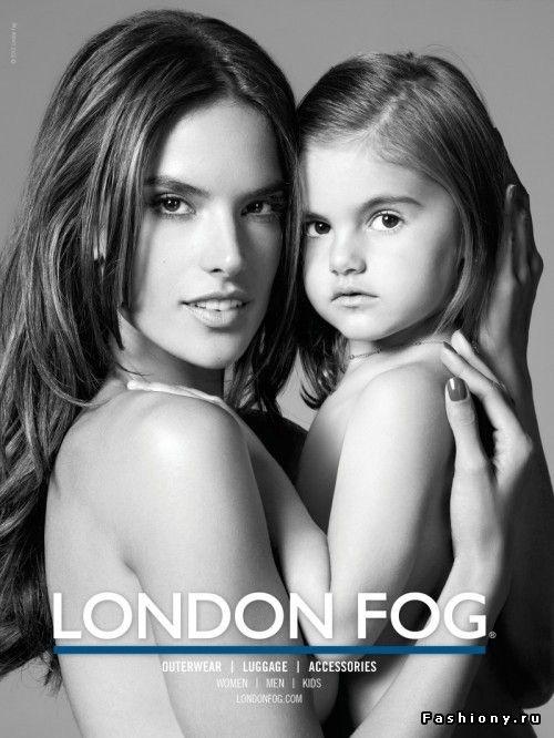 Модель как мама / картинка мама с дочкой