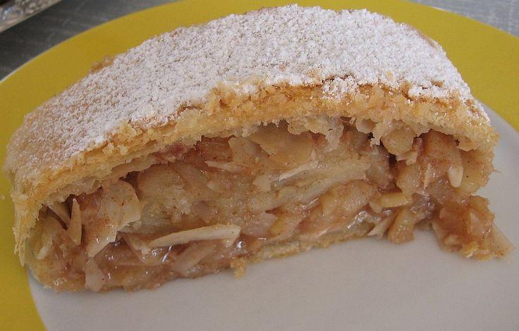 Apfelstrudel   Kate, Küche und mehr...: Apfelstrudel nach Schuhbeck.....