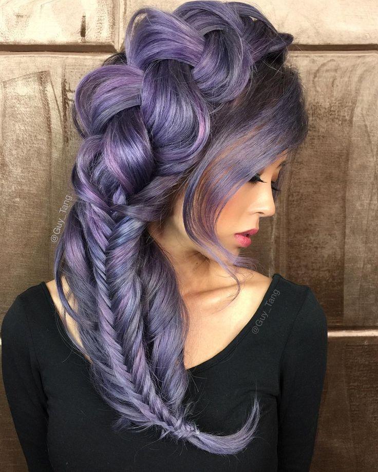 Purple Hair by Guy Tang