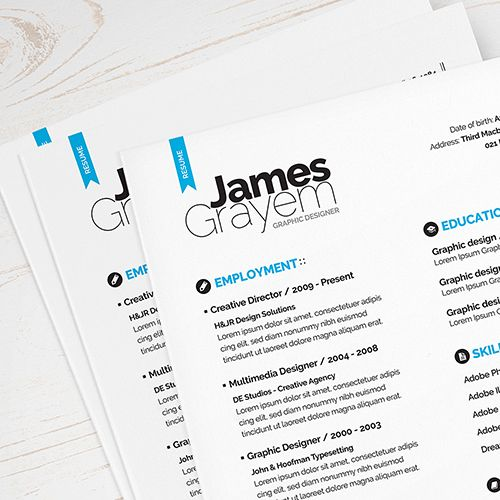 RESUME COVER LETTER CV TEMPLATE (FREEBIE)