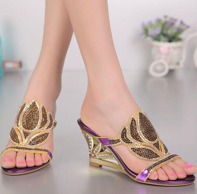 Zapatillas Sandalias de albaricoque Suede Toe Loop Rhinestones Strappy Sandalias planas para mujeres E4pxAx3M