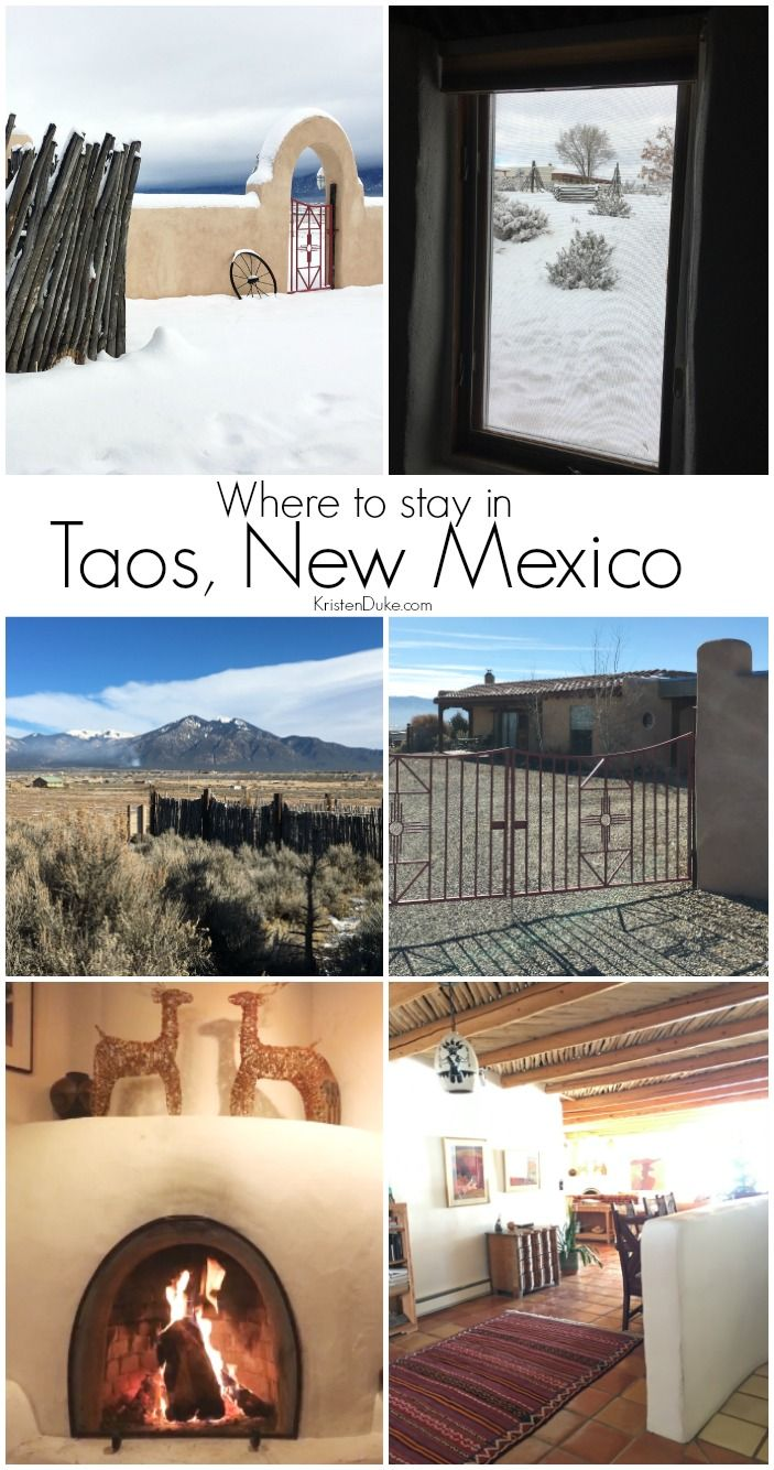 Taos Ski Valley Lodging. Where to stay when visiting Taos New Mexico!