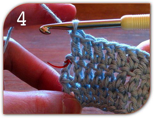 253 best images about craftiness on pinterest free pattern great tutorial that demystifies double crochet so you know how to crochet the end of the row turn and start the next row it gives you straight edges ccuart Images