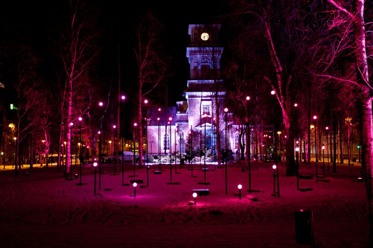 Sydän | Valoa Oulu! 2013 | Design: Ainu Palmu & Priit Tiimus | Photo: All Rights reserved Jussi Tuokkola & Oulun kaupunki