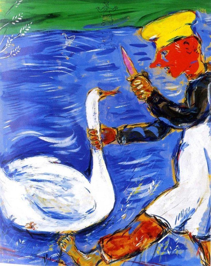 Marc Chagall & Jean de La Fontaine ~ Favole a Colori | Tutt'Art@ | Pittura * Scultura * Poesia * Musica |