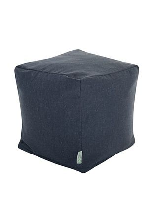 Majestic Home Goods Wales Small Cube, Navy