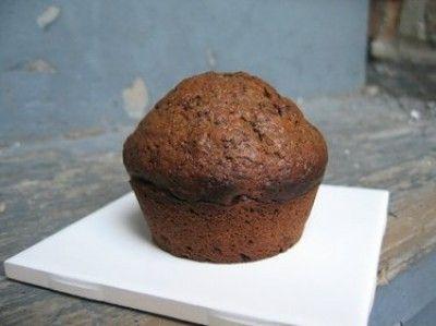 Homemade chocolade muffin