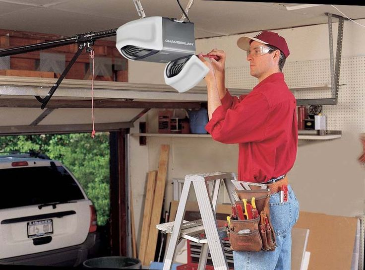 The Cost of Garage Door Opener Installation - LightHouseShoppe.com - The Cost of Garage Door Opener Installation