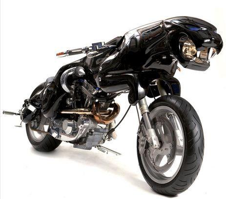 Moto Jaguar 1.200 cilindradas - Uma moto a frente de seu tempo