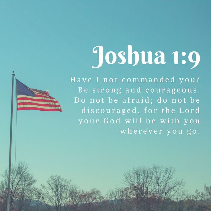 Encouraging Bible verses for military families!