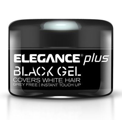 Elegance Plus Black Gel - Covers White Hair 3.5 oz $9.95 Visit BarberSalon.com One stop shopping for Professional Barber Supplies, Salon Supplies, Hair & Wigs, Professional Products, Nail Supplies. GUARANTEE LOW PRICES!!! #barbersupply #barbersupplies #salonsupply #salonsupplies #beautysupply #beautysupplies #hair #wig #deal #promotion #elegance