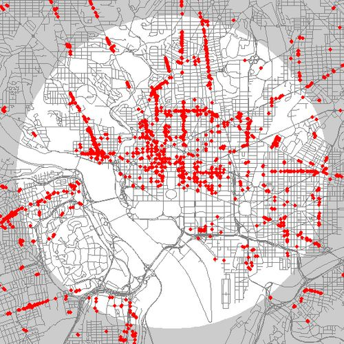 These Maps Show Nearly Every Retail Storefront In Central Dc Compared To Those In New York