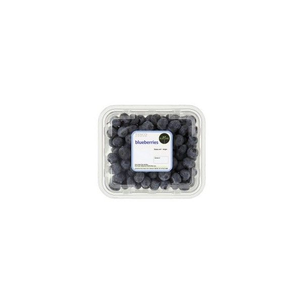 Tesco Blueberry Class I 225G - Groceries - Tesco Groceries ($6.20) ❤ liked on Polyvore featuring food, fillers, food and drink, food & drinks, extras, backgrounds, detail and embellishment