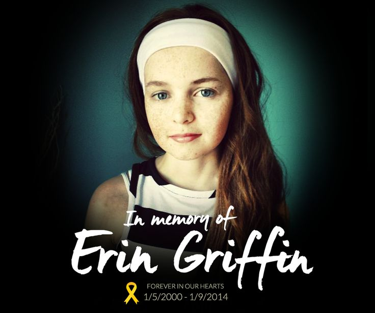 Erin did more for childhood cancer awareness in Australia than many people could ever achieve in a lifetime. We will continue Erin's fight for a cure.