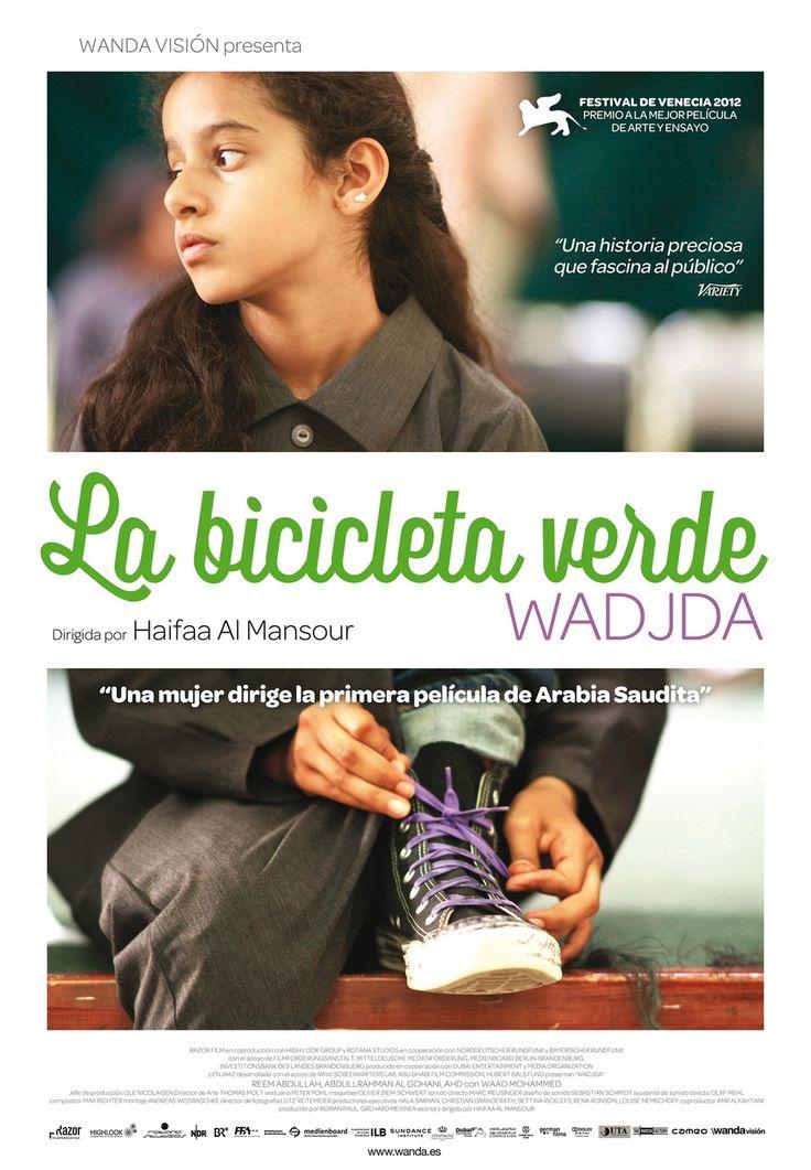 La bicicleta verde (2012) es la primera película dirigida por una mujer en Arabia Saudita (Haifaa Al Mansour). Basándose en la vida de su sobrina, nos cuenta la historia de Wadja, una chica de 10 años que sueña con tener una bicicleta para poder ganar a un amigo en una carrera. Sin embargo, la sociedad conservadora en la que vive ve con malos ojos que una chica monte en bicicleta puesto que supone un peligro para su dignidad. Trailer: https://youtu.be/DgEkAdVskmo