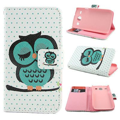 Wallet D79 Stand Leather Case Cover for Samsung Galaxy Core I8260 I8262 2GIFTS | eBay