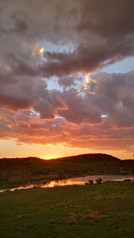 Madidaba African Sun set