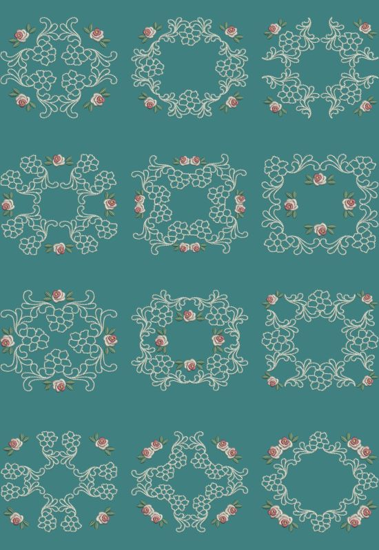 TS907 - Applique Quiltblocks 2 These Applique Quiltblocks can be done in various ways. You can stitch them using Printed Fabric to make a two tone block. Stitch them using the same fabric for the applique and backing to make a single tone block or just skip the first two colors on the design to make a normal quiltblock. The choice is all yours!!! http://www.threadsnscissors.com/applique/955-ts907-applique-quiltblocks-2 #threadsnscissors #embroidery #machineembroidery